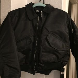 NWT LF The Brand short bomber